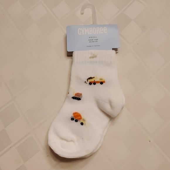 Gymboree Other - Gymboree construction socks, 6-12mo., NWT